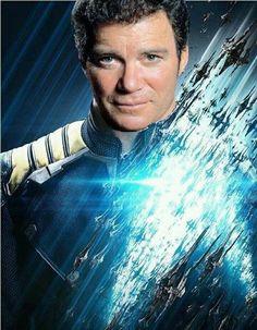 Star Trek: Beyond with William Shatner instead of Chris Pine as Captain Kirk