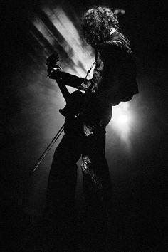 "themaninthegreenshirt: ""Jimmy Page at Tampa Stadium, Florida, January 1977 by Terry O'Neill """