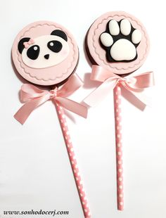 Panda Themed Party, Panda Birthday Party, Panda Party, Pink Panda, Panda Love, Panda Bear, Panda Cupcakes, Valentine Cupcakes, Birthday Party Decorations