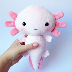 Axolotl plush toy Stuffed toy axolotl axolotl softie