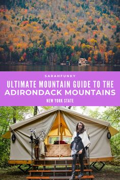 In this ultimate Adirondack Mountain guide, I'll share the best things to do, eat, see, and experience in the Adirondack Mountains of Northern New York. The Adirondack Mountains have one of the longest foliage seasons in the Northeast, and span more than six million acres. It is also one of the top destinations to see the fall colors for New Yorkers. | SarahFunky #adirondacks #fall #upstatenewyork Usa Travel Guide, Travel Usa, Travel Guides, Travel Tips, Adirondack Mountains, Upstate New York, Top Destinations, Road Trip Usa, Where To Go