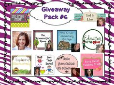Second Grade Nest: One Year Blog Anniversary! Giveaway Celebration!
