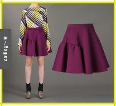 VIP sale!関税・送料込,セレブ愛用者多数【MSGM】Pleated Skirt ☆★☆ ローラが愛用して大人気のアイテム! ☆★☆  ローラが愛用していることで大人気に! サイドのフリルがかわいいアシメデザインです☆