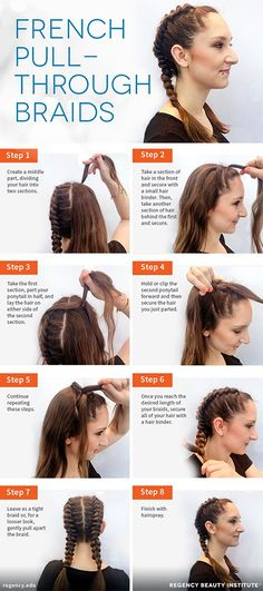 19 Best French Braid Pigtails Images Haircolor Hairstyle Ideas