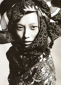 Powerful ethnic beauty