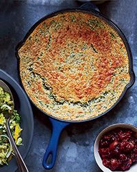 Spinach Spoon Bread Recipe on Food & Wine