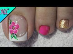 Mani Pedi, Manicure, Toe Nails, Nail Polish, Nail Art, Beauty, Youtube, Designed Nails, Gel Nail
