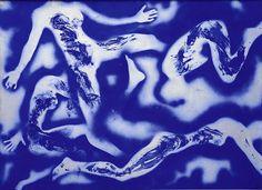 Yves Klein Anthropometrie Sans Titre 1960