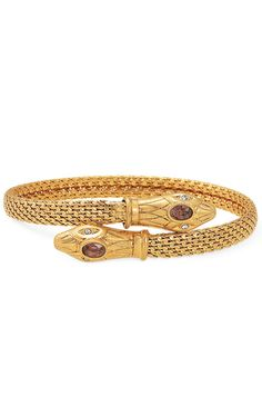 So chic! Serpent Bangle ($49) by Stella & Dot.