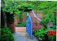English Garden Gate by Cher12861, via Flickr