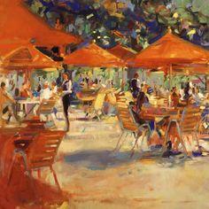 Peter Graham-Le Cafe du Jardin