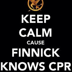 i would pretend to almost die just to get finnick to give me cpr..i need help