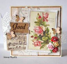 love, life and crafts Rudlis: Good times