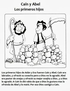 Caim e Abel Cain Y Abel, Ss Lesson, Peanuts Comics, Crafts, Apps, Iphone, Sheep, Sour Cream, Happy