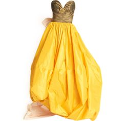 satinee.polyvore.com - Oscar de la Renta PF 2014 ❤ liked on Polyvore featuring dresses, gowns, satinee, long dress, vestidos, oscar de la renta, oscar de la renta gown, yellow dress, yellow evening gowns and yellow ball gown