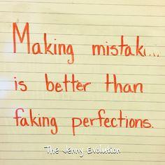 Make Mistakes   The Jenny Evolution