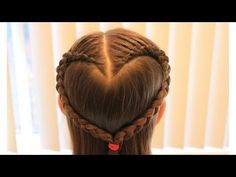 Recommended for Valentine's Day! Heart hair Easy cute gir…- Recommended for… Recommended for Valentine's Day! Heart hair Easy cute gir…- Recommended for Valentine's Day! Easy Cute Girls Hairstyles, Little Girl Hairstyles, Braided Hairstyles, Braids For Kids Tutorial, Heart Braid, Kids Hair Clips, African American Hairstyles, Hair Styles, Ava Elizabeth