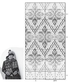 Crochet Kids Scarf, Crochet Mittens Free Pattern, Baby Afghan Crochet, Crochet Baby Booties, Crochet For Kids, Knitting Charts, Knitting Patterns, Crochet Hat With Brim, Norwegian Knitting