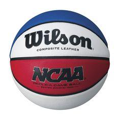 Wilson Ncaa Replica Basketball, Red