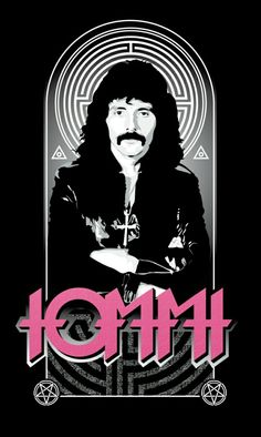 Tony Iommi Artwork Black Sabbath