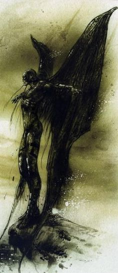 Luis Royo -- this would also make an amazing tat on my calf!!