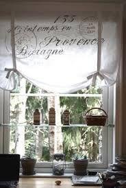 Flour sack curtains! #shabbychicbathroomscurtains