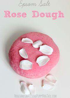 Epsom Salt Rose Dough on FSPDT