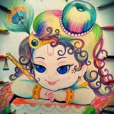 Too cutie  As always  Radhe Radhe
