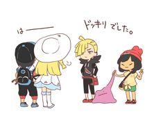 となみ (@tona_bnkz) さんの漫画   16作目   ツイコミ(仮) Pokemon Luna, Pokemon Moon, Pokemon Couples, Catch Em All, Noragami, Memes, Pokemon Stuff, Video Game, Family Guy