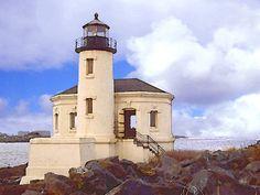 'Coquille River Lighthouse' von Dirk h. Wendt bei artflakes.com als Poster oder Kunstdruck $18.03