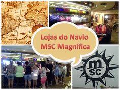 Lojas - Navio MSC Magnífica