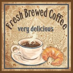 Fresh Brewed Coffee (Jean Plout)