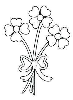 34 Best Bouquet Of Flowers Coloring Pages Images In 2019