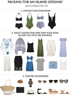 HOW TO PACK FOR AN ISLAND GETAWAY