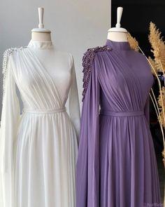Modest Fashion Hijab, Modesty Fashion, Fashion Dresses, Stylish Dress Designs, Stylish Dresses, Formal Dresses, Hijab Evening Dress, Evening Dresses, Gaun Dress