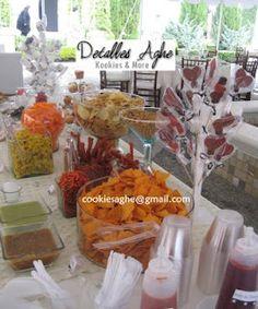1000 images about mesa frutas y snacks on pinterest for Decoracion de frutas para fiestas infantiles