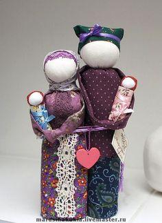 """Народные куклы ручной работы. Ярмарка Мастеров - ручная работа Кукла народная  """"Неразлучники"""" (семейный оберег). Handmade."""
