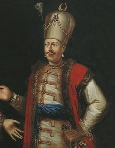 1. Mahmut, Kambur 1730 - 1754. The Ottoman Sultan and his Haseki. Unknown painter. 1700/1750. Pera Museum.