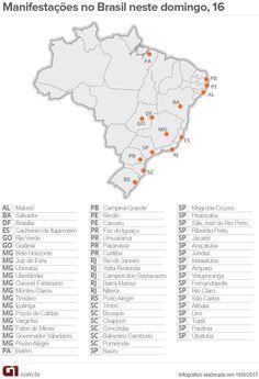 (2) G1 Política - Manifestações no Brasil - Cobertura completa dos protestos