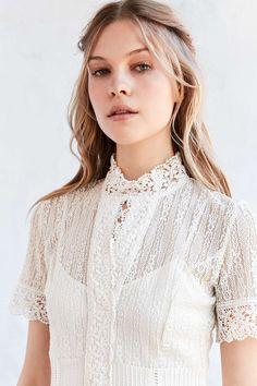 Bardot Valentina Victoria Lace Maxi Dress