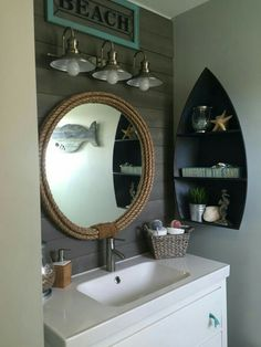 Cute And Adorable Mermaid Bathroom Decor Ideas 33