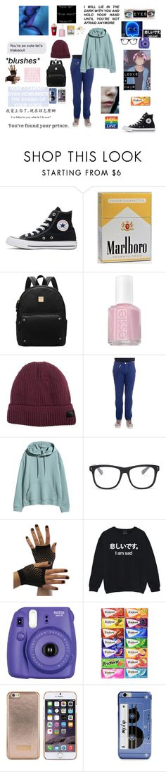 """""""OC // Damien Walsh"""" by eponinejustgotfriendzoned ❤ liked on Polyvore featuring Converse, Essie, DIBI, Tramarossa, STELLA McCARTNEY, Fujifilm, Ted Baker and Kate Spade"""