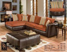 Love Sectionals But I Would Do Different Color Schemes Living Room Orange Orange Furniture Living Room Living Room Sets