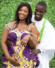 Cucumber Mask, Kente Dress, Kente Styles, Black Families, Kitenge, African Design, Traditional Wedding, Engagements, Wedding Styles