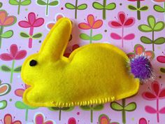 Bunny Rabbit 1/3 Cup Catnip and Valerian Toy by PickyChickDesigns