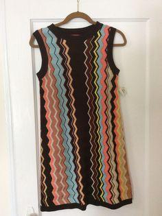 Missoni chevron knit dress.  NWT.  Size Small.  $30 shipped in U.S.