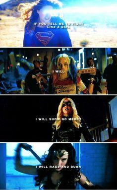 Supergirl, suicide Squad, Green arrow, wonder woman