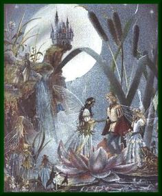 fairy wedding by Jean and Ron Henry