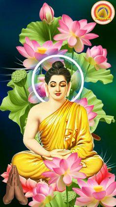 Baby Buddha, Buddha Zen, Budha Painting, Night Sky Wallpaper, Good Morning Gif, Indian Art Paintings, Goddess Art, Flower Quotes, Pencil Art Drawings