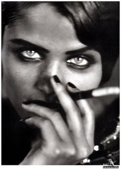 pinterest.com/fra411 #photography - Helena Christensen by Peter Lindberg